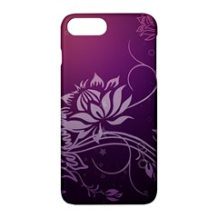 Purple Lotus Apple iPhone 7 Plus Hardshell Case