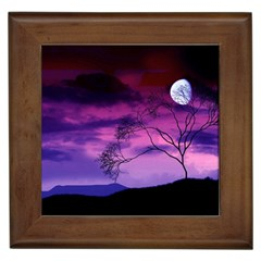 Purple Sky Framed Tiles