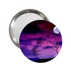 Purple Sky 2.25  Handbag Mirrors