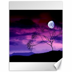 Purple Sky Canvas 18  x 24