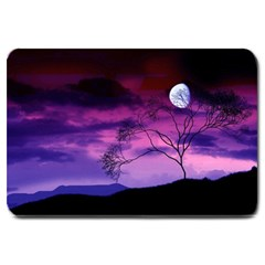 Purple Sky Large Doormat