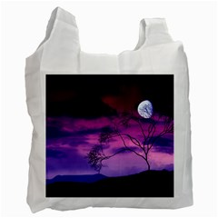 Purple Sky Recycle Bag (One Side)
