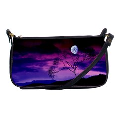 Purple Sky Shoulder Clutch Bags