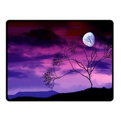 Purple Sky Fleece Blanket (Small)