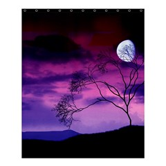 Purple Sky Shower Curtain 60  x 72  (Medium)