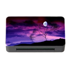 Purple Sky Memory Card Reader with CF