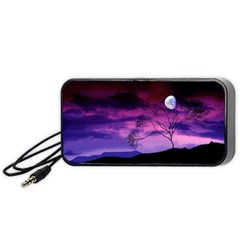 Purple Sky Portable Speaker (Black)