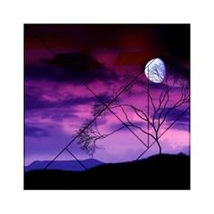 Purple Sky Acrylic Tangram Puzzle (6  x 6 )