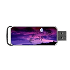 Purple Sky Portable USB Flash (Two Sides)