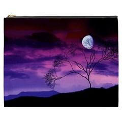 Purple Sky Cosmetic Bag (XXXL)