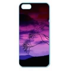 Purple Sky Apple Seamless iPhone 5 Case (Color)