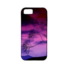 Purple Sky Apple iPhone 5 Classic Hardshell Case (PC+Silicone)