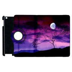 Purple Sky Apple iPad 2 Flip 360 Case