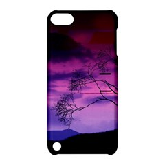 Purple Sky Apple iPod Touch 5 Hardshell Case with Stand