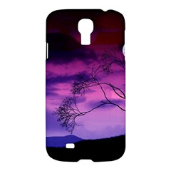 Purple Sky Samsung Galaxy S4 I9500/I9505 Hardshell Case