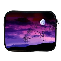 Purple Sky Apple iPad 2/3/4 Zipper Cases