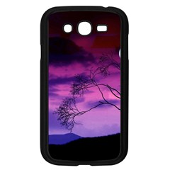 Purple Sky Samsung Galaxy Grand DUOS I9082 Case (Black)