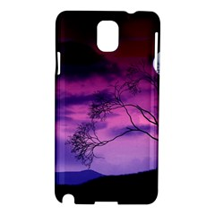 Purple Sky Samsung Galaxy Note 3 N9005 Hardshell Case