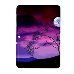 Purple Sky Samsung Galaxy Tab 2 (10.1 ) P5100 Hardshell Case