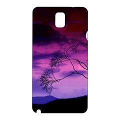Purple Sky Samsung Galaxy Note 3 N9005 Hardshell Back Case