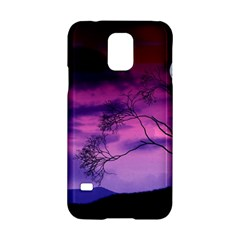 Purple Sky Samsung Galaxy S5 Hardshell Case