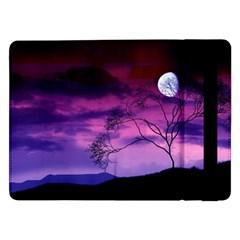 Purple Sky Samsung Galaxy Tab Pro 12.2  Flip Case