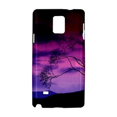 Purple Sky Samsung Galaxy Note 4 Hardshell Case