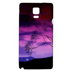Purple Sky Galaxy Note 4 Back Case