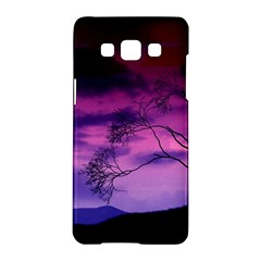 Purple Sky Samsung Galaxy A5 Hardshell Case