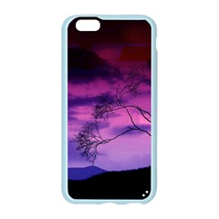 Purple Sky Apple Seamless iPhone 6/6S Case (Color)