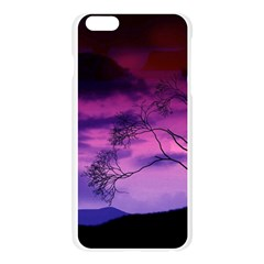 Purple Sky Apple Seamless iPhone 6 Plus/6S Plus Case (Transparent)