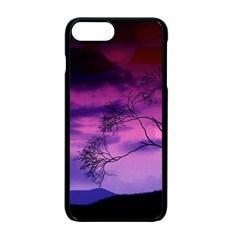 Purple Sky Apple iPhone 7 Plus Seamless Case (Black)