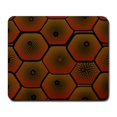 Psychedelic Pattern Large Mousepads