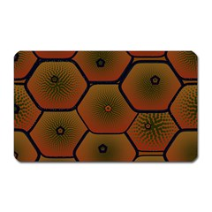 Psychedelic Pattern Magnet (Rectangular)