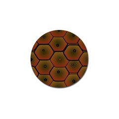 Psychedelic Pattern Golf Ball Marker