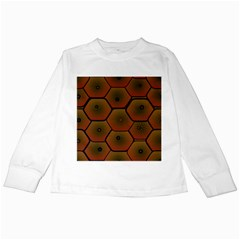 Psychedelic Pattern Kids Long Sleeve T-Shirts
