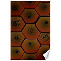 Psychedelic Pattern Canvas 20  x 30