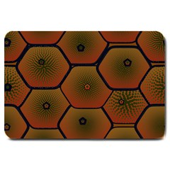 Psychedelic Pattern Large Doormat