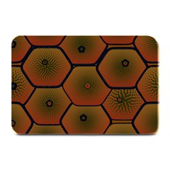 Psychedelic Pattern Plate Mats