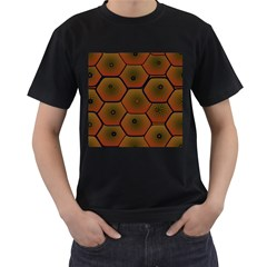 Psychedelic Pattern Men s T-Shirt (Black)