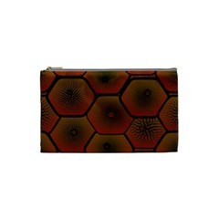 Psychedelic Pattern Cosmetic Bag (Small)
