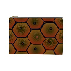 Psychedelic Pattern Cosmetic Bag (Large)