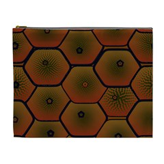 Psychedelic Pattern Cosmetic Bag (XL)