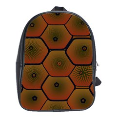 Psychedelic Pattern School Bags(Large)