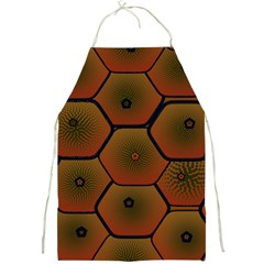 Psychedelic Pattern Full Print Aprons