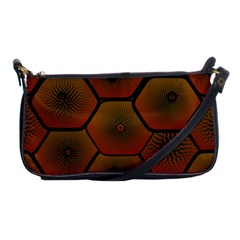 Psychedelic Pattern Shoulder Clutch Bags