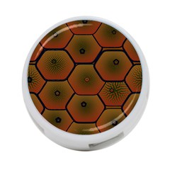 Psychedelic Pattern 4-Port USB Hub (One Side)