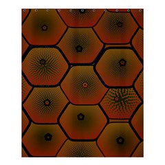 Psychedelic Pattern Shower Curtain 60  x 72  (Medium)