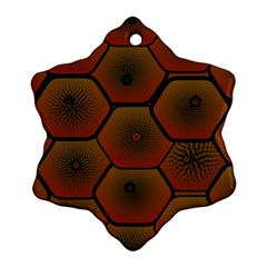 Psychedelic Pattern Ornament (Snowflake)