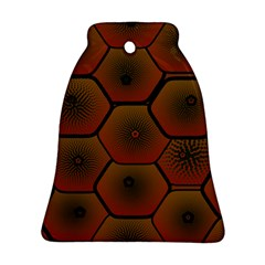 Psychedelic Pattern Bell Ornament (2 Sides)